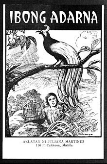Cover artwork from a Juliana Martinez Books edition, © 2005. Source: https://en.wikipedia.org/wiki/Ibong_Adarna#/media/File:Ibong_Adarna.jpg