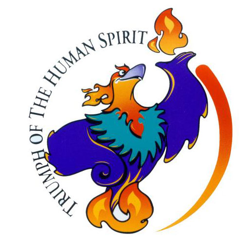 Blaze, the Phoenix mascot of the 1996 Paralympic Games. It looks very  Ibong Adarna -ish to me.