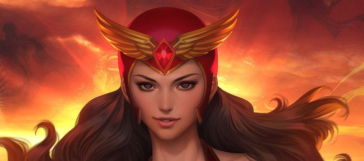 World-famous illustrator Stanley Lau's interpretation of Darna.