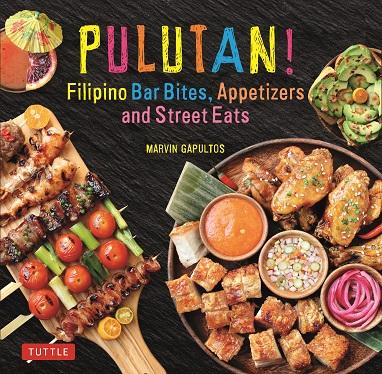 "Gapultos' new book ""Pulutan!"" (Photo courtesy of Marvin Gapultos)"