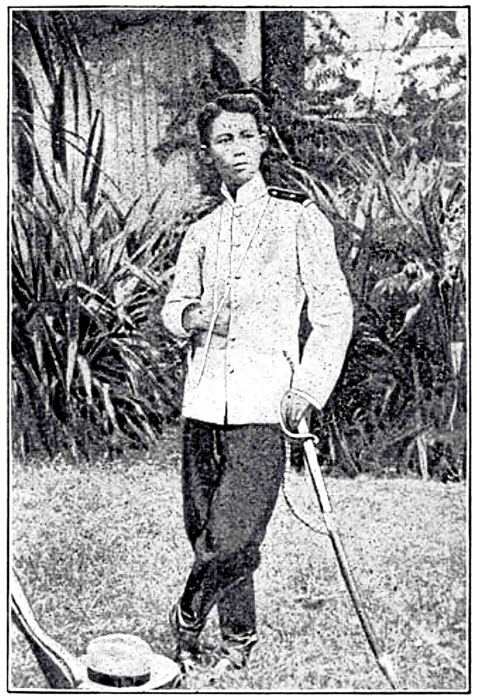 General Gregorio del Pilar, from Our Islands and Their People, 1899. (Source: Ortigas Library Collection)