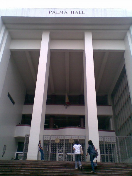 University of the Philippines' Palma Hall (Source: iskiwiki.up.edu.ph)