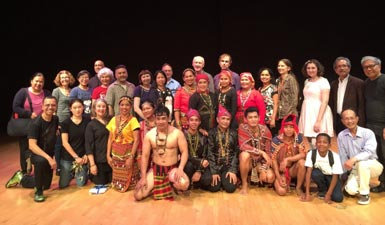 Dayaw International performers at City College of San Francisco