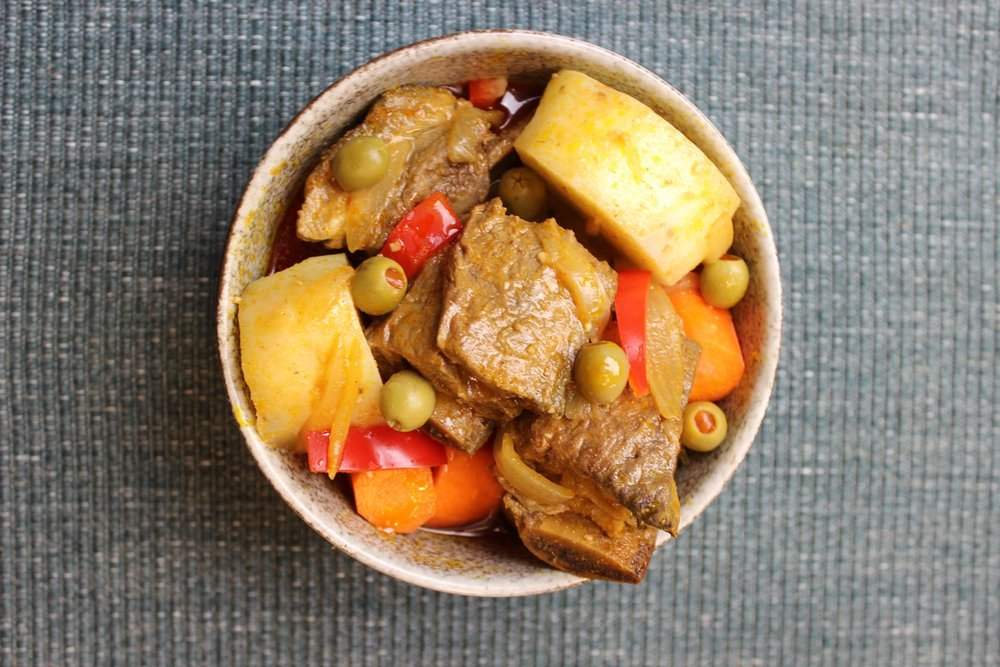Instant Pot Beef Caldereta (Photo by Elizabeth Ann Quirino)