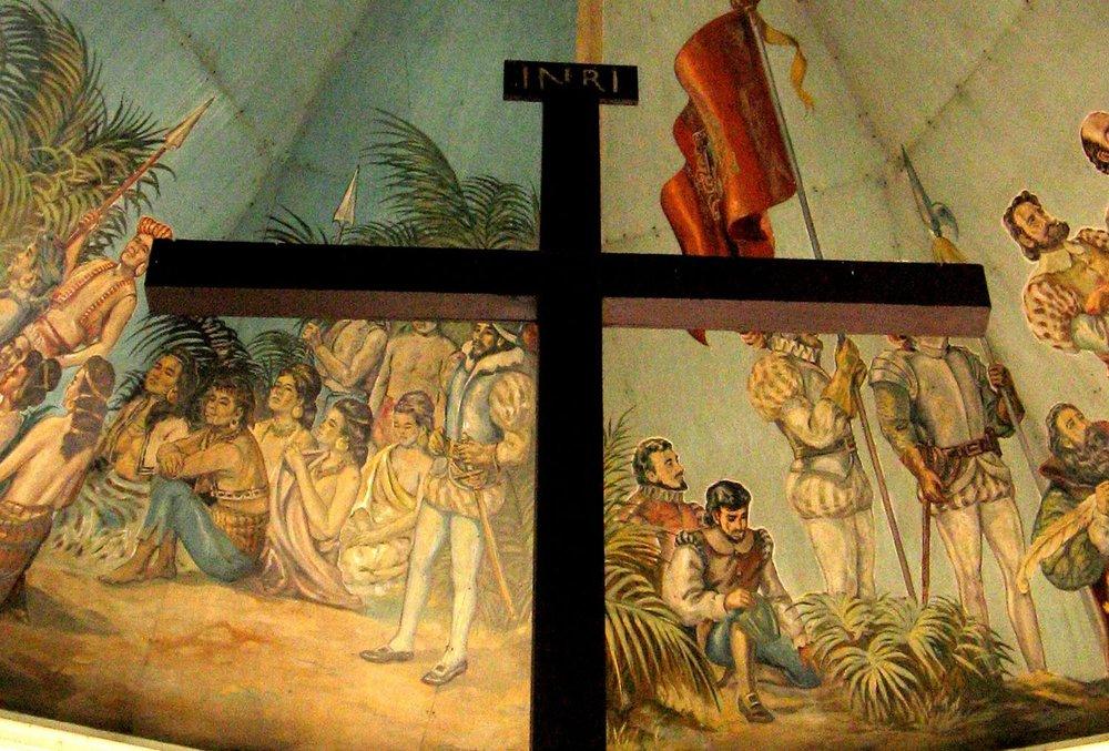 Magellan's cross in Cebu (Source: Wikipedia)