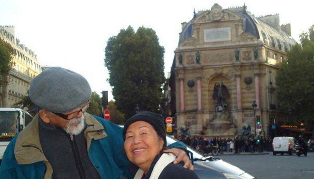 Bert and Eva Florentino in Paris