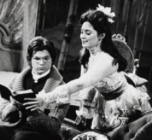 In the original 1973 production of  A Little Night Music  on Broadway, Victoria Mallory, right, played Anne Egerman to her stepson, Henrik, a theology student. They later married in real life and begat . . .