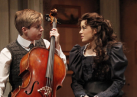Ramona Mallory, right, who reprised her mother's role of Anne in the 2009 Catherine Zeta-Jones-headlined return of the musical on Broadway. Henrick, left, in 2009, was played by Hunter Ryan Herdlicks.