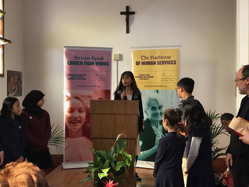 Jilma Meneses, CEO Catholic Charities(Photo by Ferlie Andong)