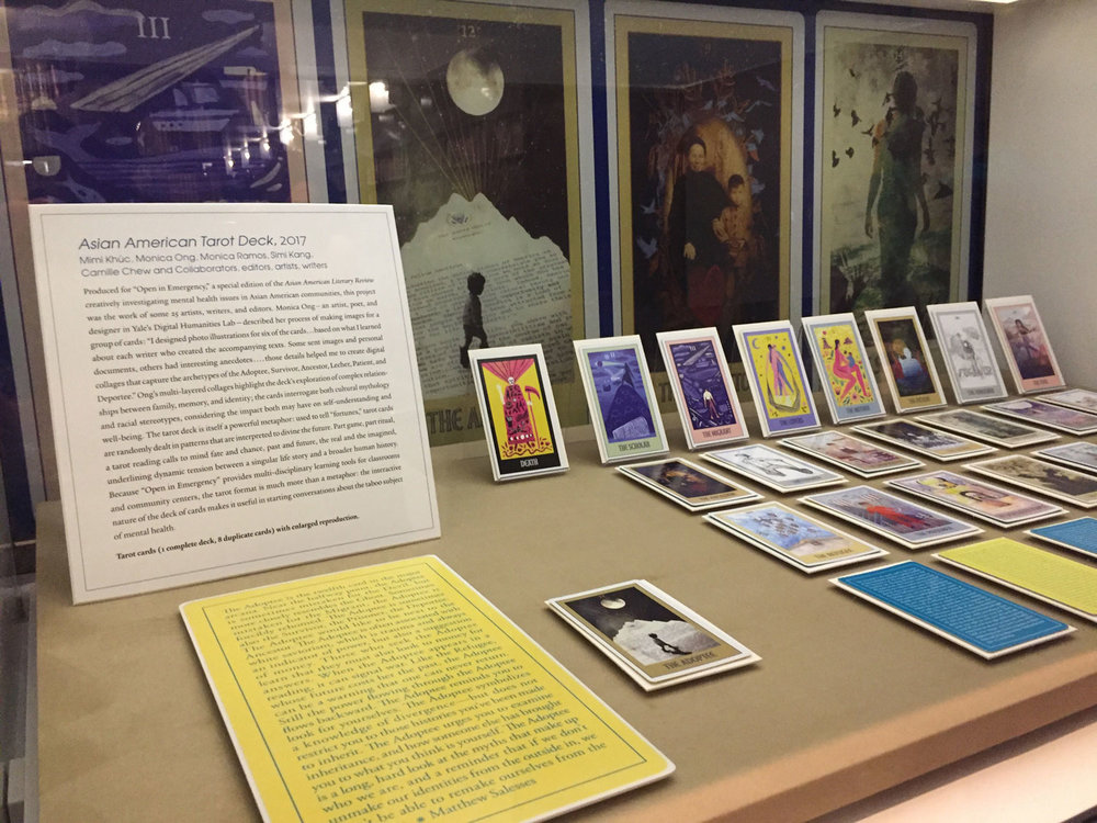 Asian   American Tarot: A Mental Health Project  at Yale Beinecke Rare Book & Manuscript Library