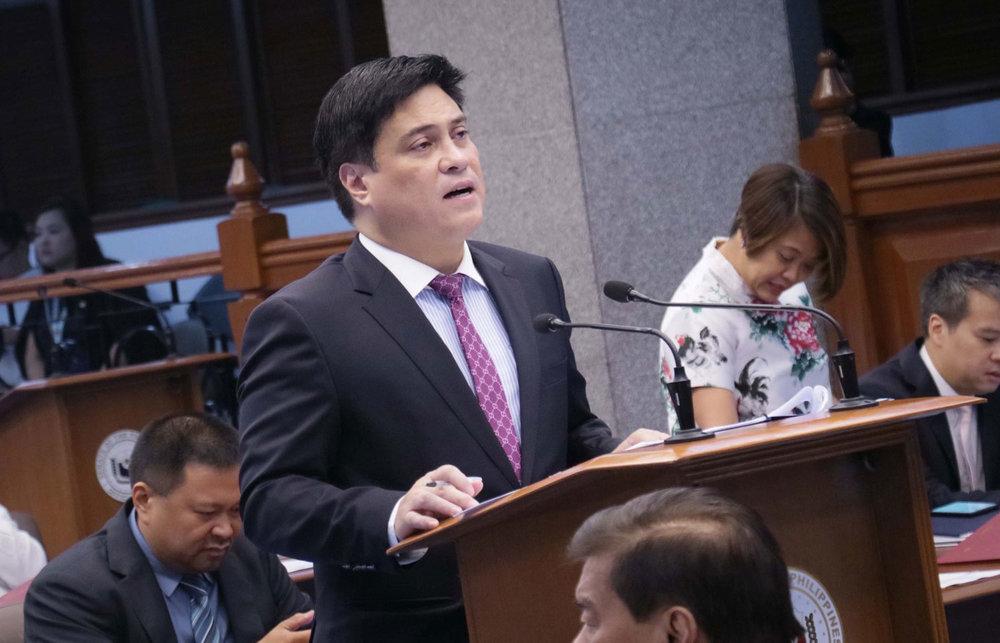 Senate Majority Leader Juan Miguel Zubiri (Photo from Zubiri's Facebook page)