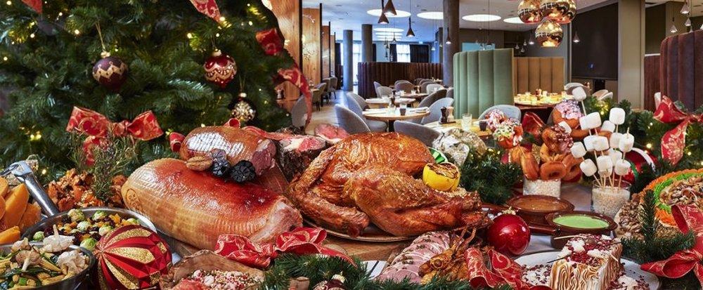 Noche Buena feast (Source: Filipino Times)