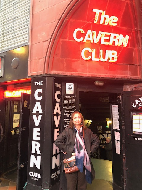 Can't miss the Cavern Club, where Beatlemania was born (Photo courtesy of Cherie Querol Moreno).
