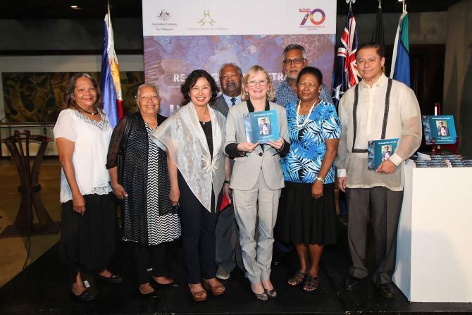 Manila book launch