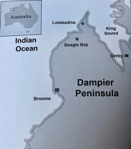 Map of Broome