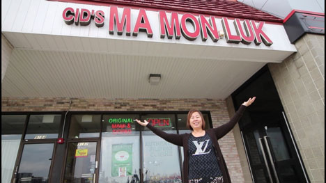 Rosa Ang Sanchez welcomes the world to Cid's Ma Mon Luk. (Photo by Ivan Kevin Castro)