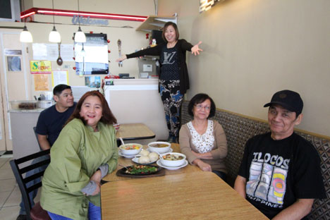 Owner Rosa Ang Sanchez and her staff make Cid's Ma Mon Luk a must-visit restaurant. (Photo by Ivan Kevin Castro)