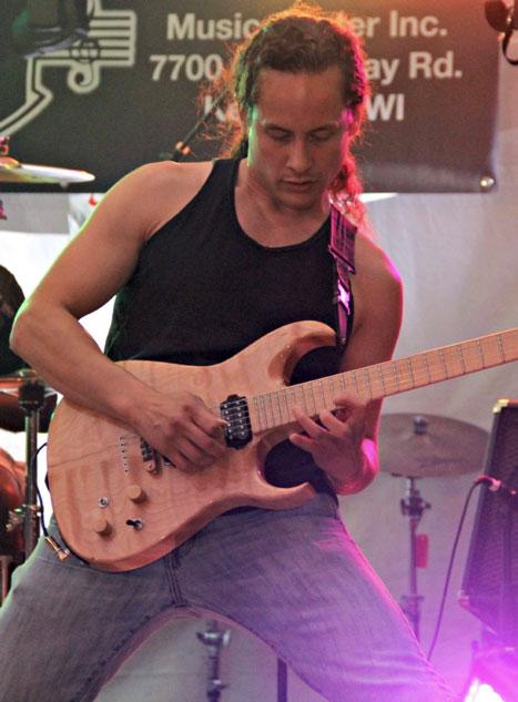 Jamey Buencamino is also a rock guitarist. (Photo courtesy of Jamey Buencamino)