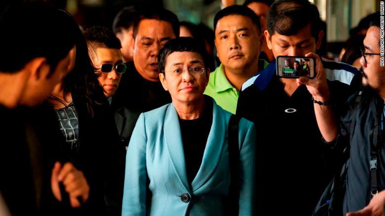 Maria Ressa (Source: CNN Philippines)