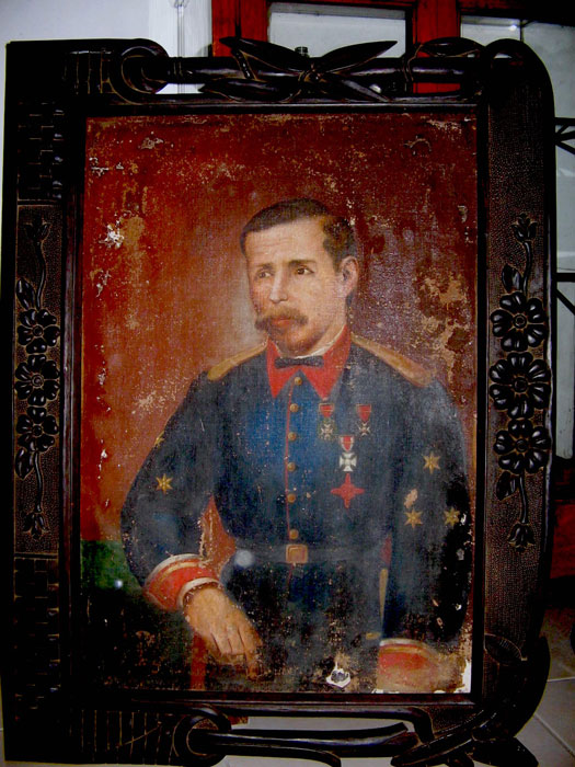 Captain Francisco Guido y Perez, Spanish husband of the heiress, Doña Dominga de Sta. Ana