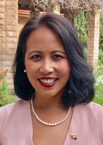 Sierra Madre Council Member Rachelle Arizmendi was Mayor in 2017.