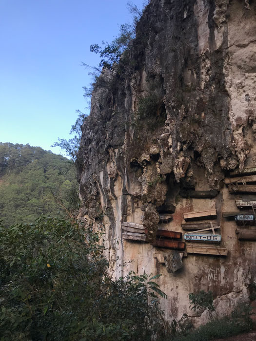 Sagada is just two hours away from Buscalan by car. We spent a night there to explore caves, hike, and of course see the hanging coffins. It is definitely worth a trip (Photo by Jensen Esteves and Maia Almendral Esteves)!