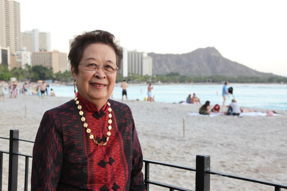 Lindy in Waikiki (Photo courtesy of Rose Aquino)