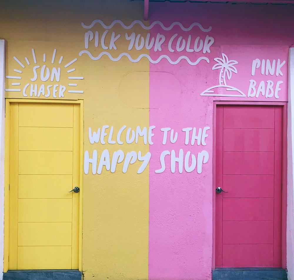 Outside of Happy Beach Cebu's gift shop (Source: Erielle Fornes)