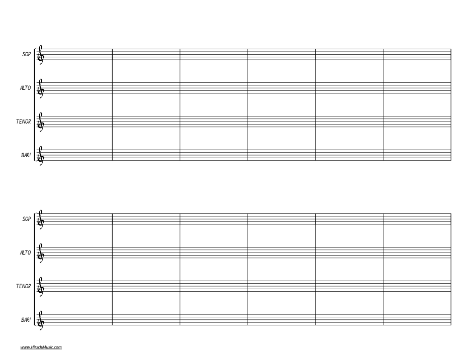 Sax Quartet Score (transposed)