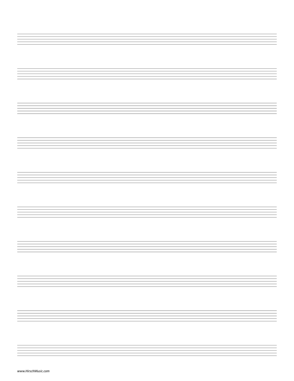 It's just a graphic of Eloquent Printable Staff Paper With Bar Lines