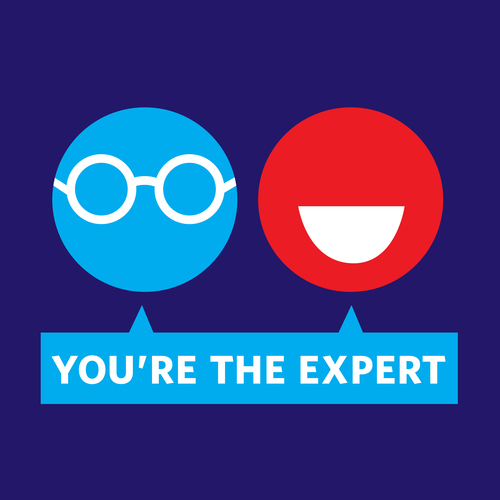 You're The Expert logo