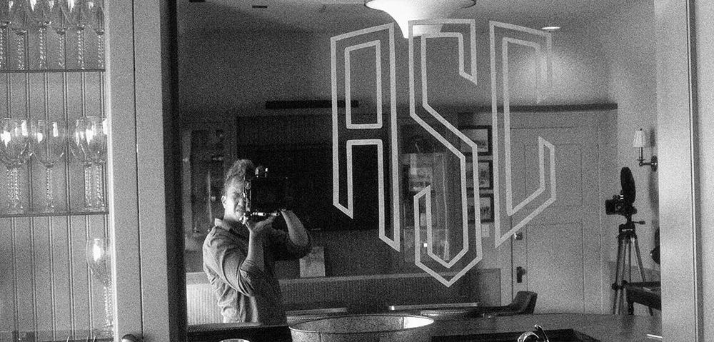 The mirror behind the bar at the ASC.