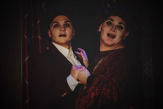 The Hillcrests return to Mandacrest tomorrow! Join us at @theplayerstheatrenyc  for the return of #IrmaVepTP! #offBroadway #mystery #offBway #Downtown #nyc #NYCtheatre #GreenwichVillage #WestVillage #MysteryOnMacDougal #theatre #PennyDreadful #MrNye #MrSellers #Campy #Creepy #comedy #melodrama #farce #ridiculous #thtrprjct #TheTheatreProject #mummy #werewolf #edgar #enid #downton #mandacrest #IrmaVepTP @samuelfrenchnyc