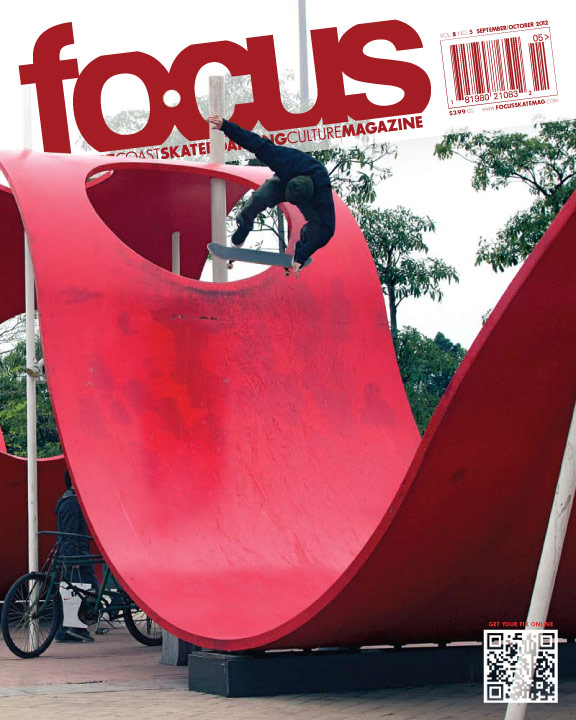 [o] zhao - cover shot of Chipper Del Negro, nollie backside heel in guangzhou
