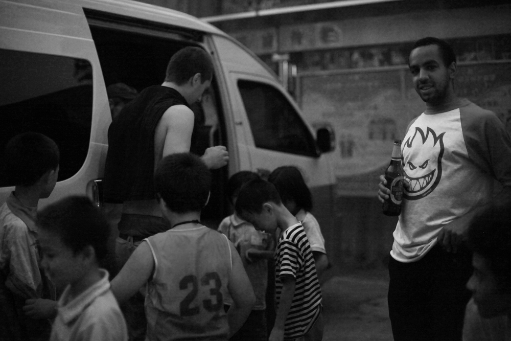 [o] zhao - chima ferguson, touring with vans in china