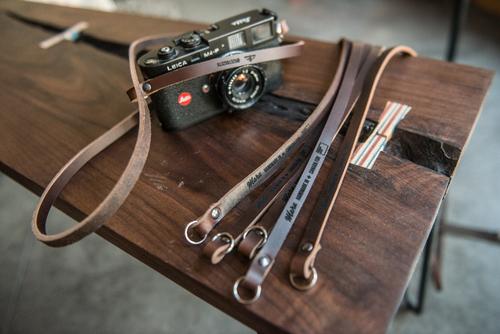 Chromexcel Leather Camera Strap — maru