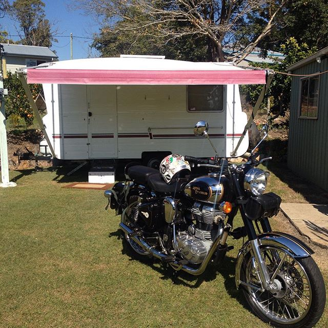My little home in Gympie Australia while I chase work in Sydney