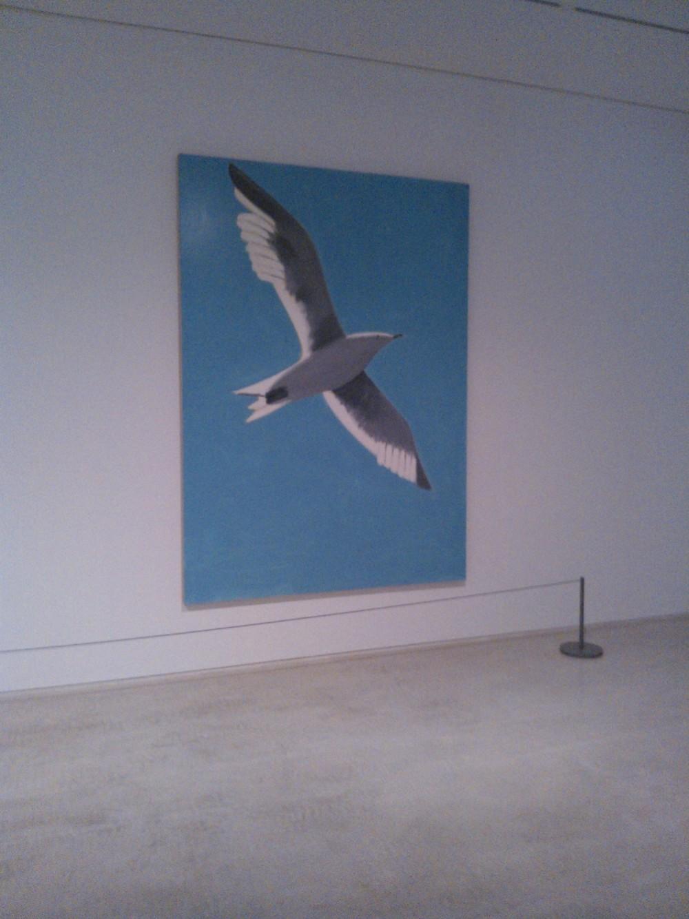 Seagull, 2011. Alex Katz