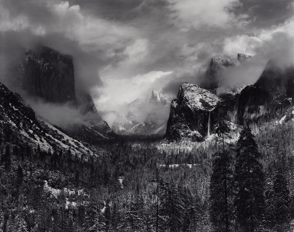 Clearing Winter Storm, Yosemite National Park, California (about 1937)