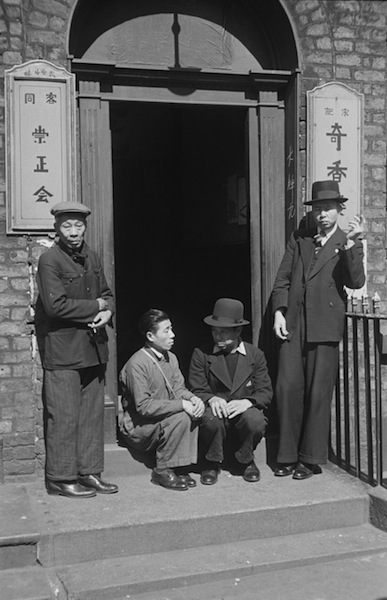 Chinese Hostel © Bert Hardy, May 1942