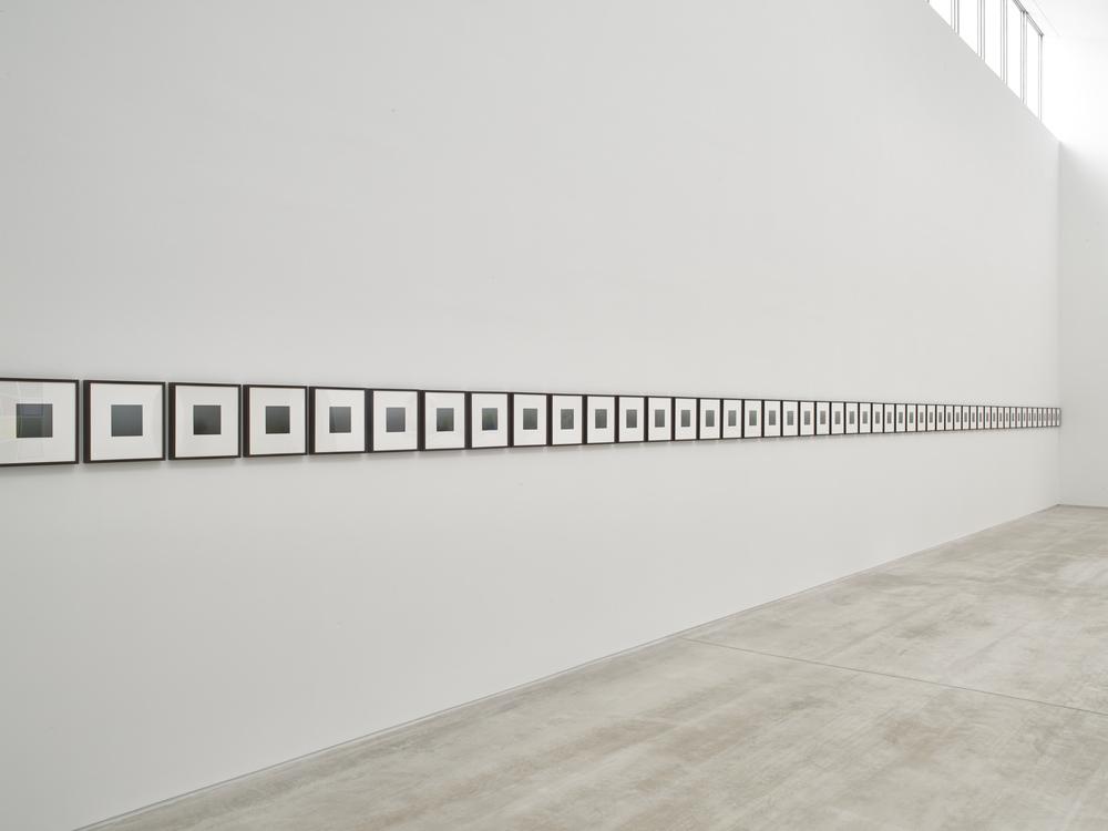 Spencer Finch Thank You, fog, 2009 60 x Archival Inkjet Photographs Galerie Nordenhake Berlin/Stockholm Photo Stephen White