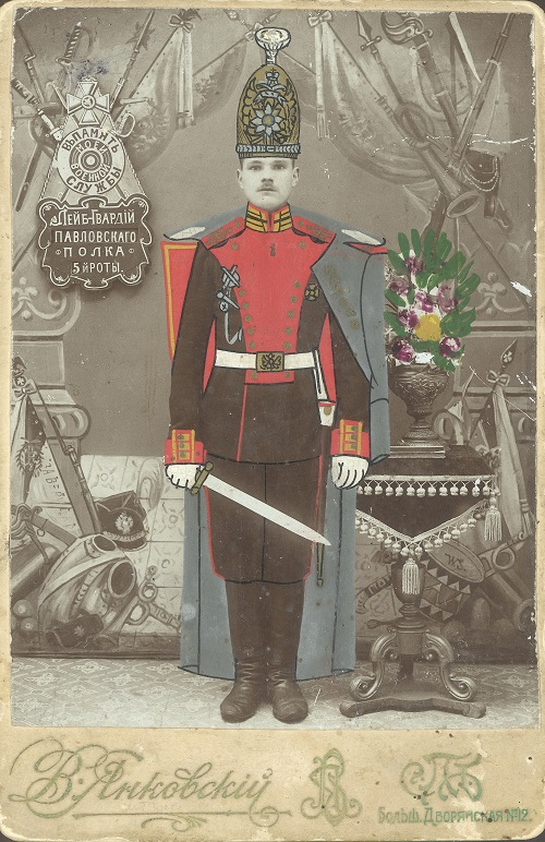 P.T. Ivanov, First year of the military service, Saint Petersburg, 1911