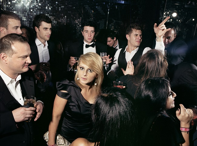 Bankers at Boujis Nightclub, 2011