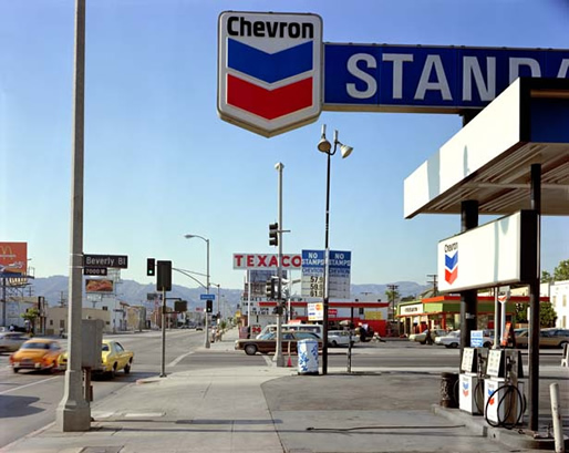 Stephen Shore, Beverly Boulevard and La Brea Avenue, LosAngeles, CA, 21 June 1974