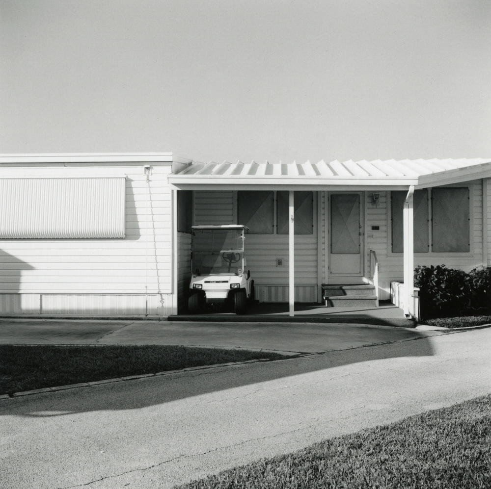 Charles Johnstone, untitled, from Briny Breezes, Fl, 2006 gelatin silver print 7 x 7 inches