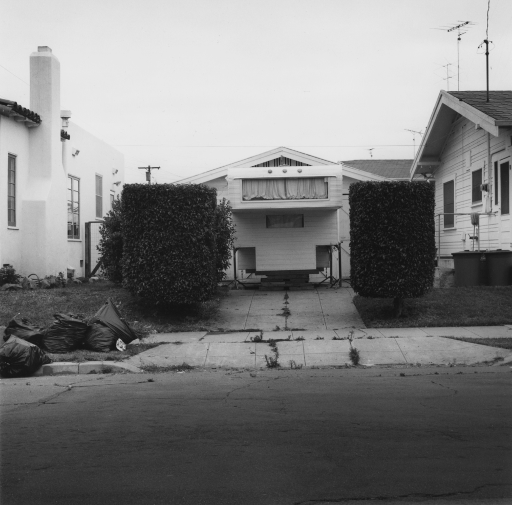 Reenie Barrow, Clairemont, CA, 1978, vintage gelatin silver print, 10.25 x 10.25 inches