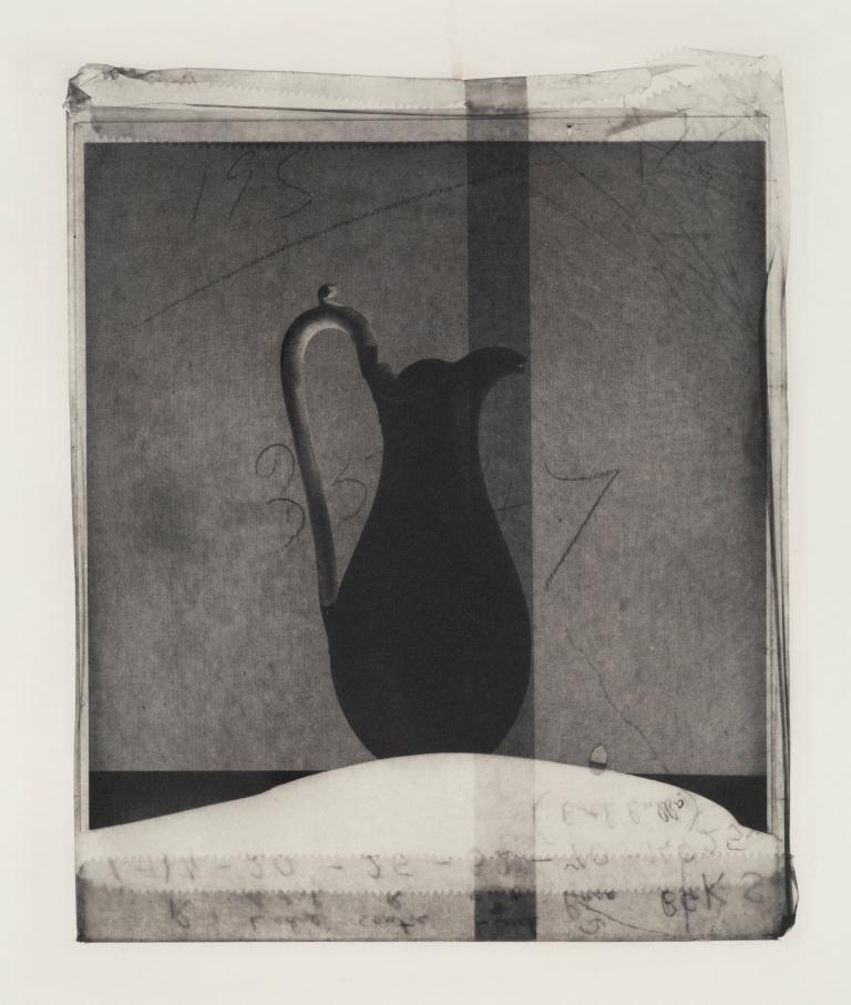 Cornelia Parker,  Broken Jug (From Thirty Pieces of Silver (Exposed)) , 2015. Series of 21 polymer photogravure etchings on Fabriano Tiepolo Bianco 290 gsm paper. Edition of 20. Courtesy Cornelia Parker and Alan Cristea Gallery, London
