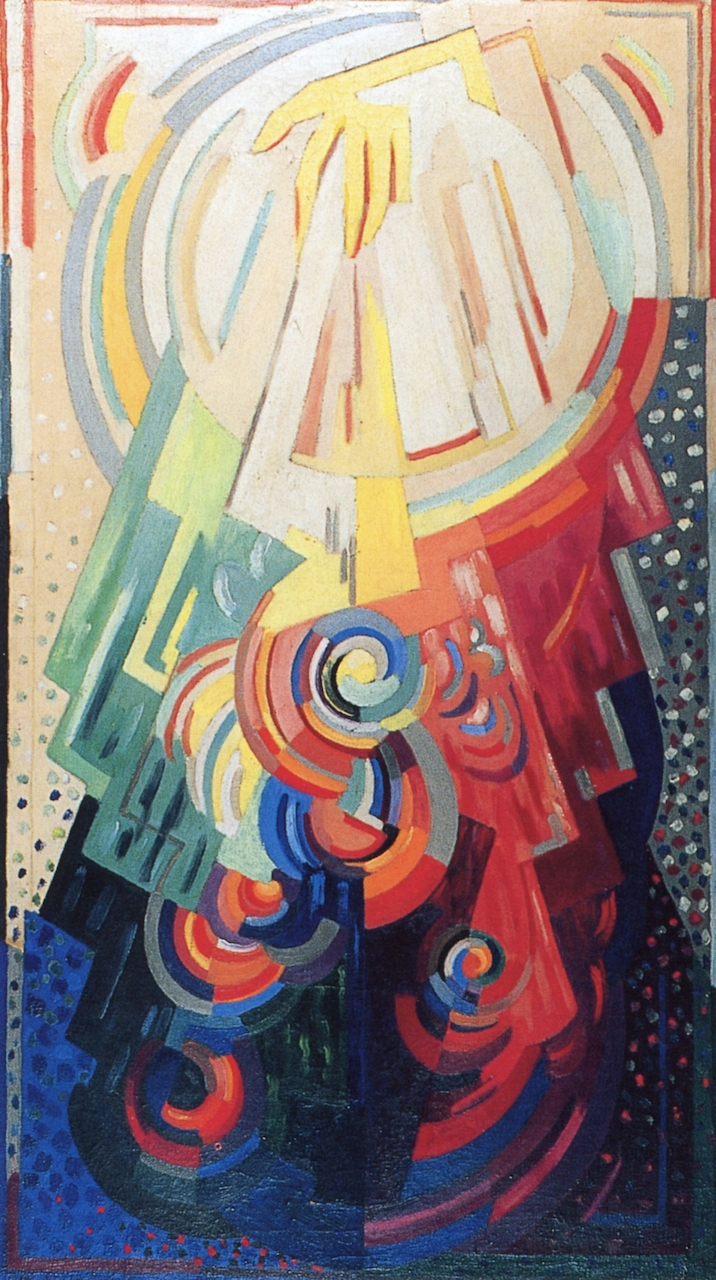Let There Be Light, Mainie Jellett. 1942