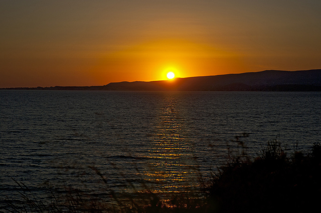 Sunset, Kefalonia by Berlt Watkln [CC BY 2.0], via Flickr. View the image here