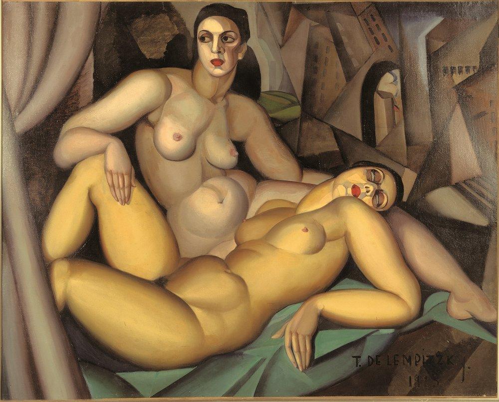 Tamara de Lempicka Les deux amies, 1923 Association des Amis du Petit Palais, Geneve